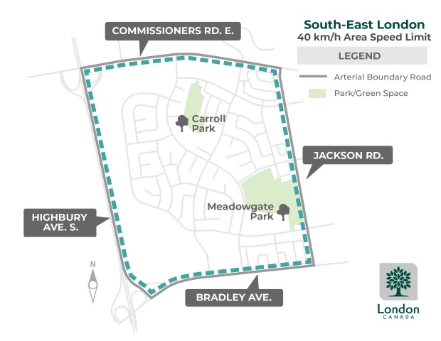 The area within Highbury Avenue South - Commissioners Road East - Jackson Road - Bradley Avenue will be affected by this program. For more information, please contact Shane Maguire by emailing smaguire@london.ca or by calling 519-661-2489 x 8488